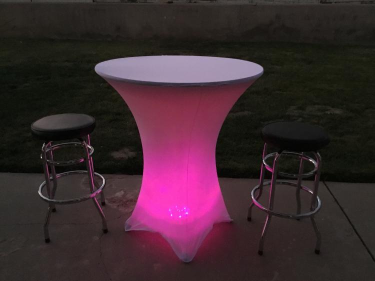 Multicolor LED Spandex