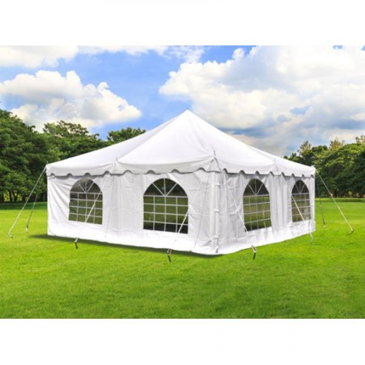 10 feet wide window SideWall for 20'x20' Tent