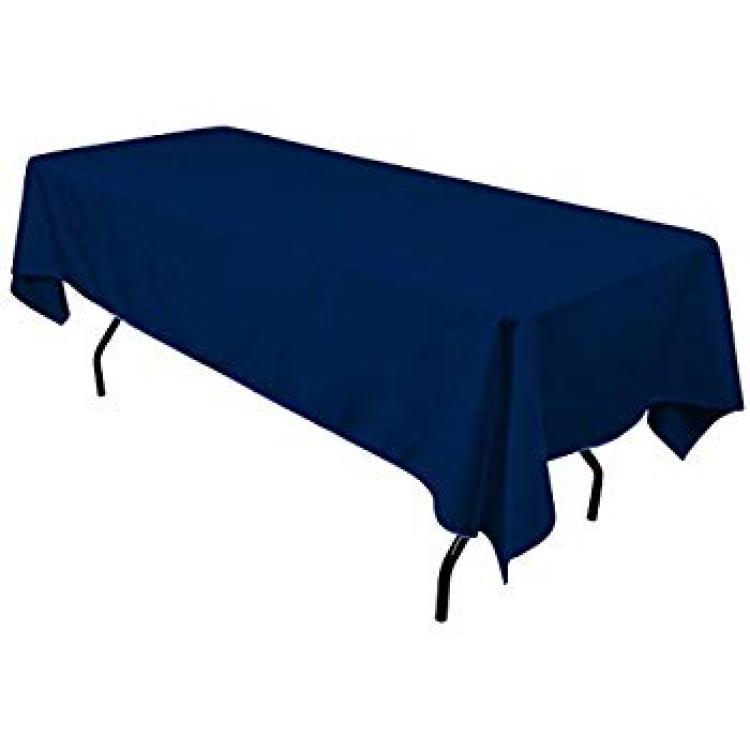 """Navy Blue 60""""x120"""" Banquet Linen"""