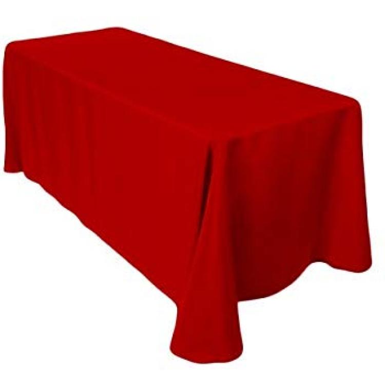 Red 90x156 Banquet Linen