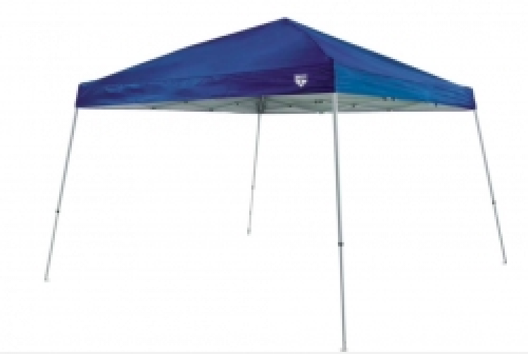 Blue 10'x10' Instant Up Slant Leg Canopy