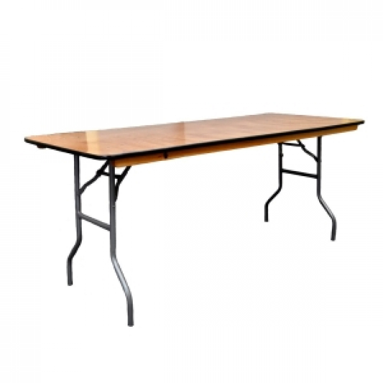 6' Long Banquet Table