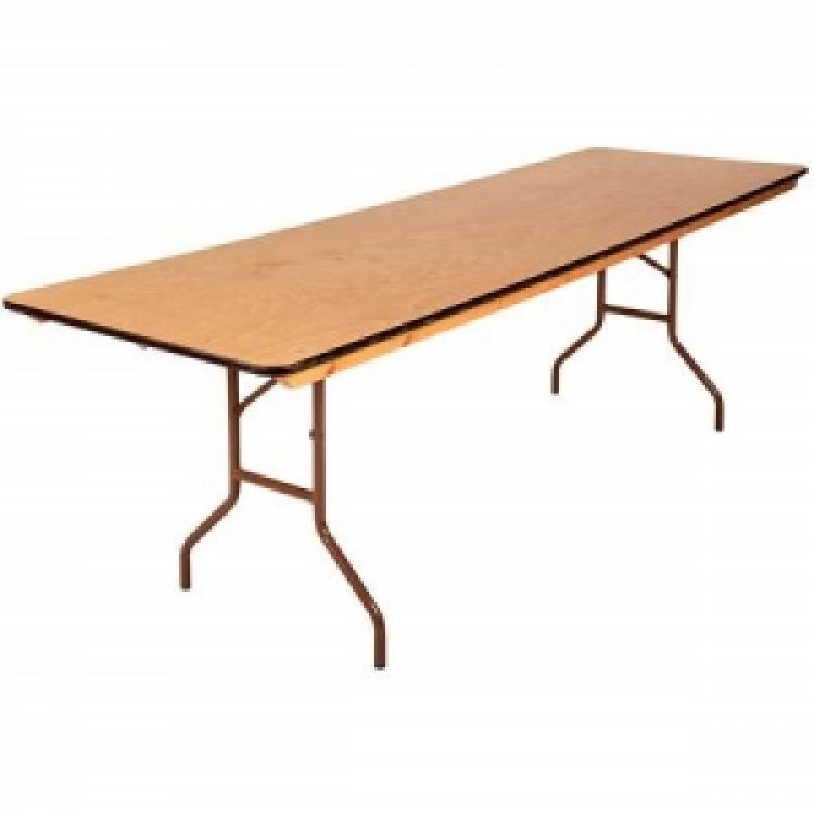 8' Long Banquet Table