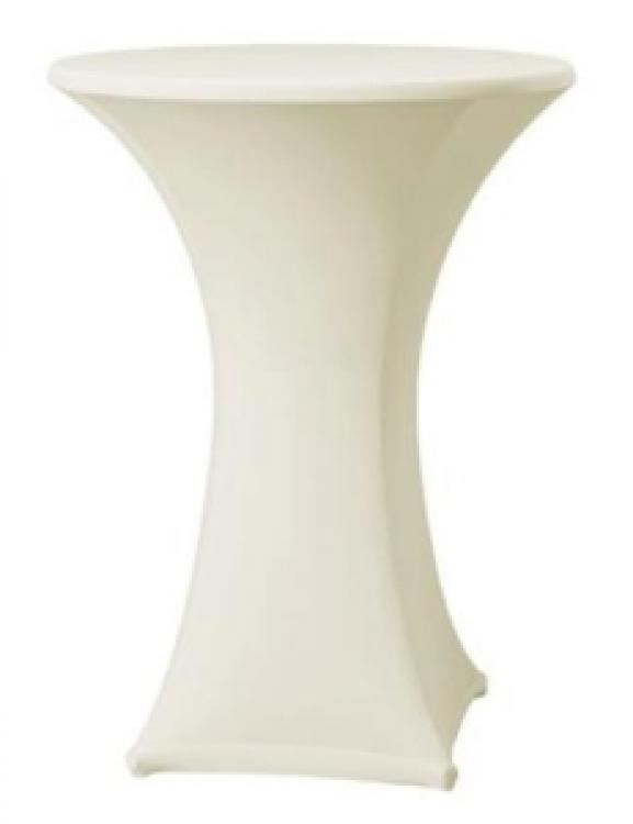 Ivory Spandex Linen
